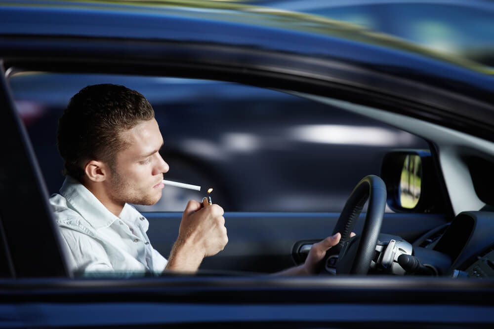 Can You Smoke in a Rental Car?