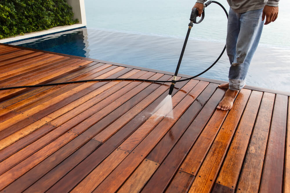 Does Power Washing Damage a Deck?